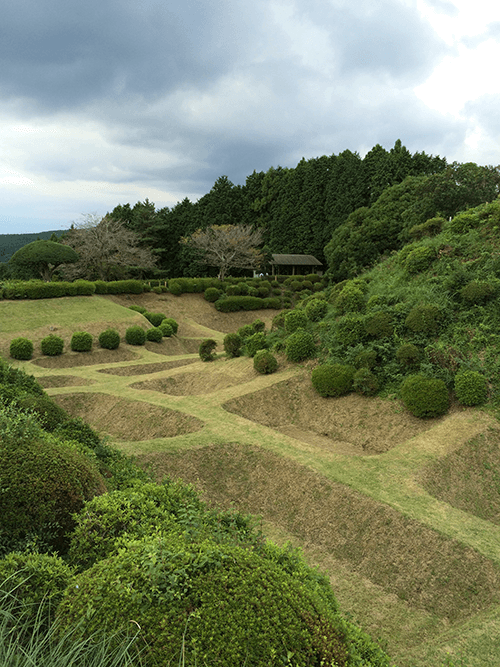 The Shoji-style Moat of Shizuoka Prefecture's Yamanaka Castle, which has been restored.