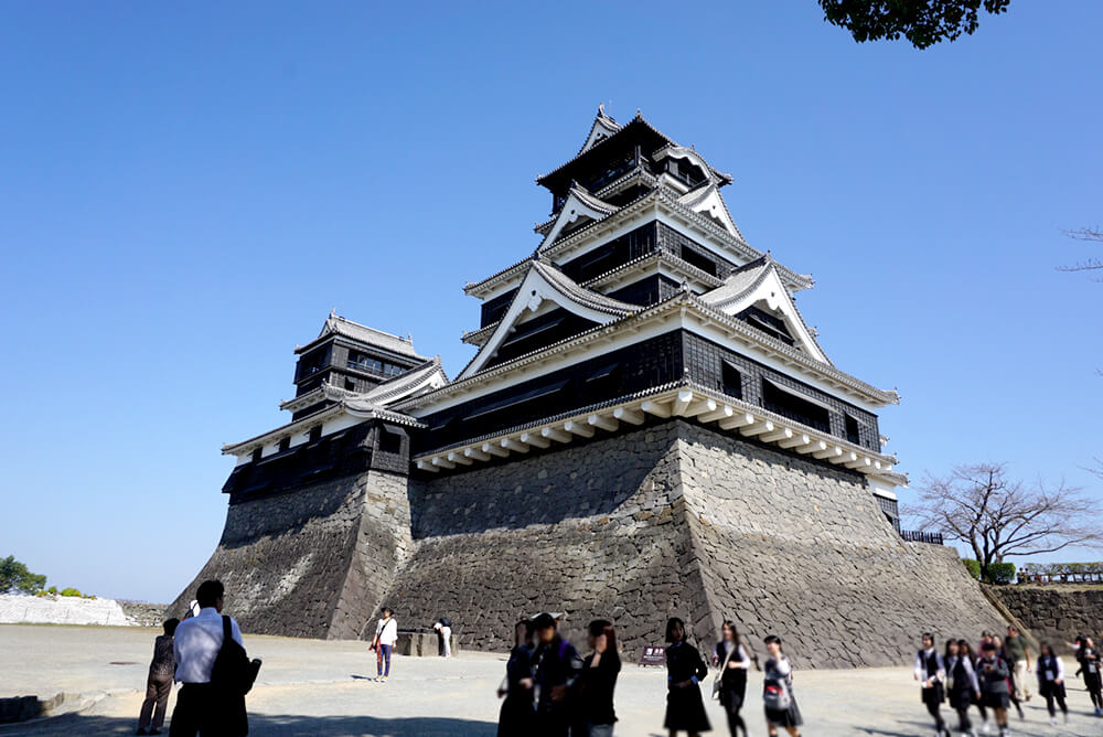 Kumamoto Castle (This photo was take in October 2015.)