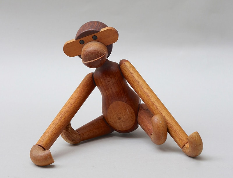 画像:カイ・ボイイスン、玩具〈サル〉、1951年。Photo-Michael-Whiteway