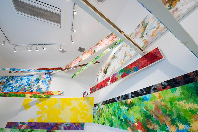 YCC Gallery 内海聖史 「遠くの絵画」