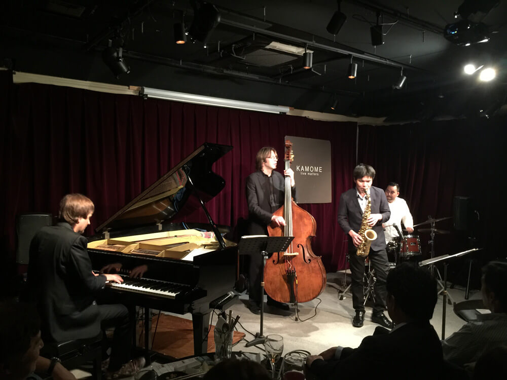 Yan Lundgren Trio, featuring Yousuke Sato.