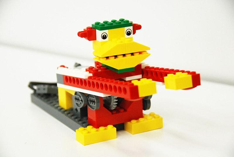 ロボット&プログラミング教室「初めてのプログラミング ~レゴWeDoを使って~(ドラミングモンキー)」
