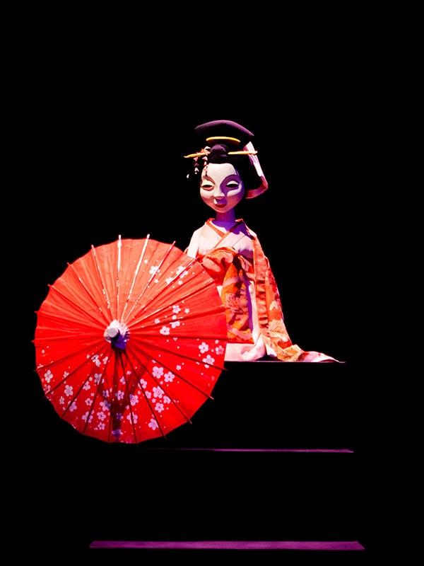 近松人形芝居 冥途の飛脚
