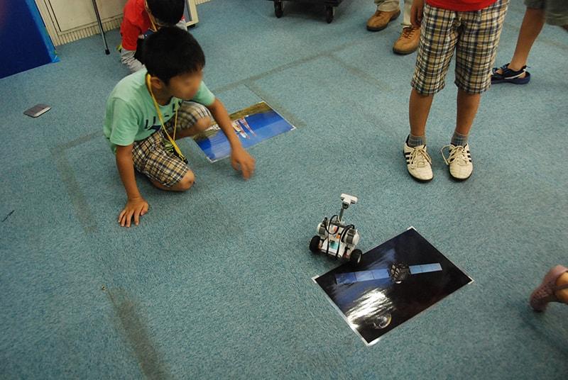 ロボット&プログラミング教室「ブロックロボットでプログラミングに挑戦 レゴNXT初級②-2(宇宙探検)」