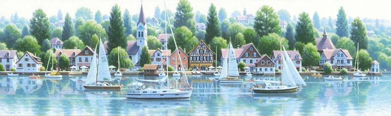 画像:「ボーデン湖からライン河へ」<br>(C)TEPPEI SASAKURA / ART TERRACE
