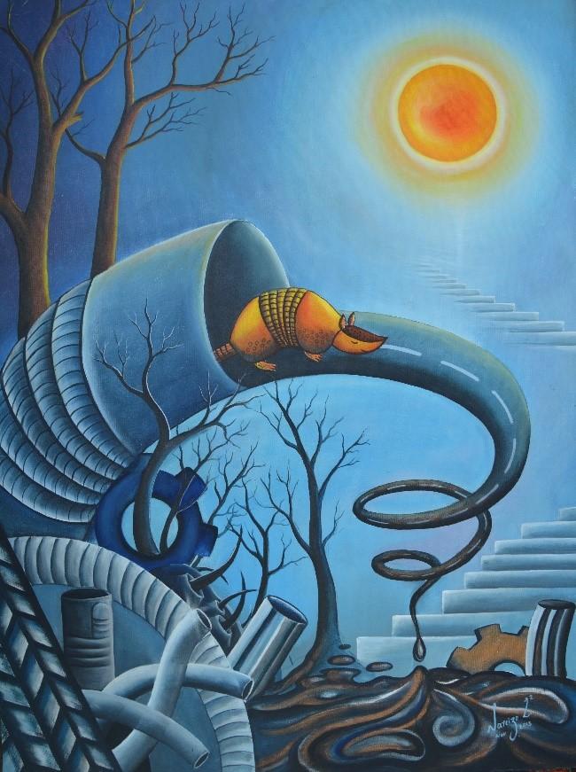 """メキシコ・チアパス榎本移民120""""Akio Hanafujiとチアパスの画家たち展"""