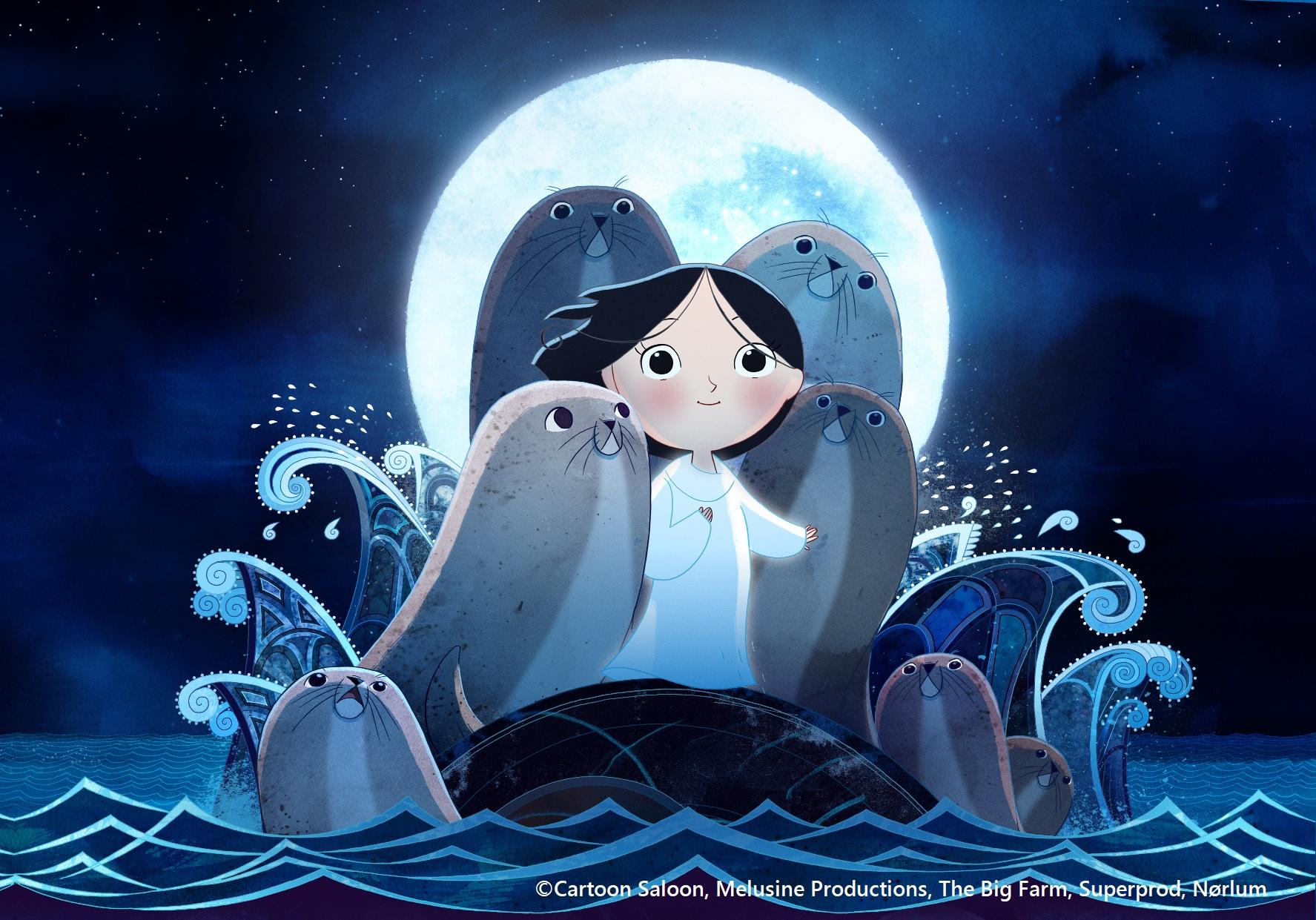 親子向けアニメーション上映「ソング・オブ・ザ・シー 海のうた 日本語吹替版」