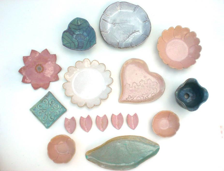 陶芸 FLOWER! 季節感ある器を作る陶芸体験