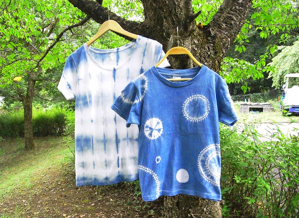 藍染で素敵に染めよう!Tシャツ&エコバック