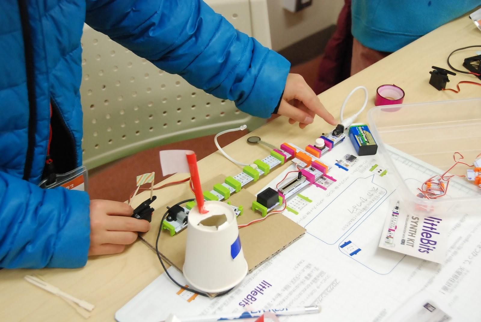 ロボット&プログラミング教室「littleBitsでミッションにチャレンジ!」事前申込み制