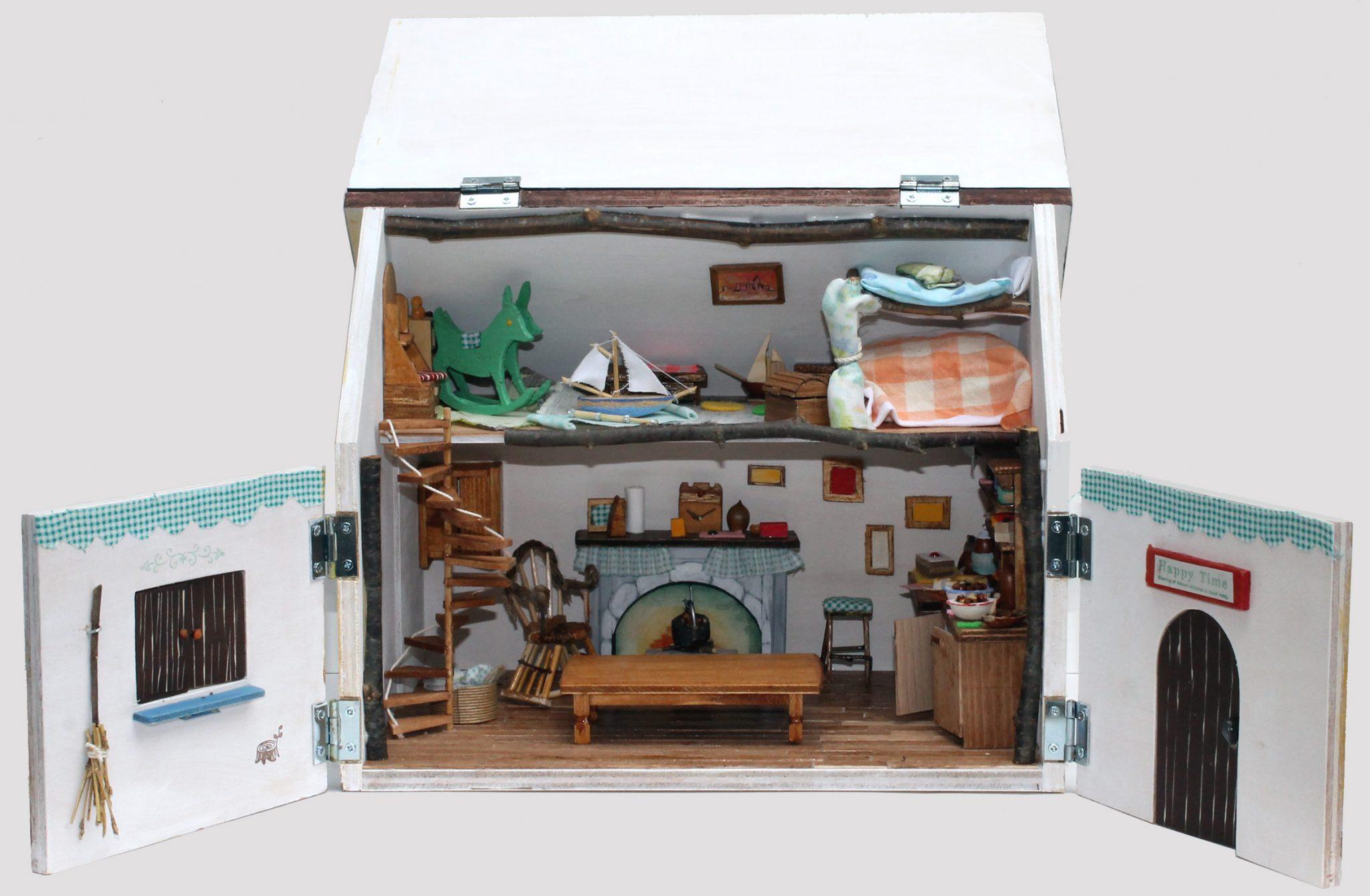木工WS「家族で楽しむ木の工作」~選べる!木のロボット/ドールハウスづくり~