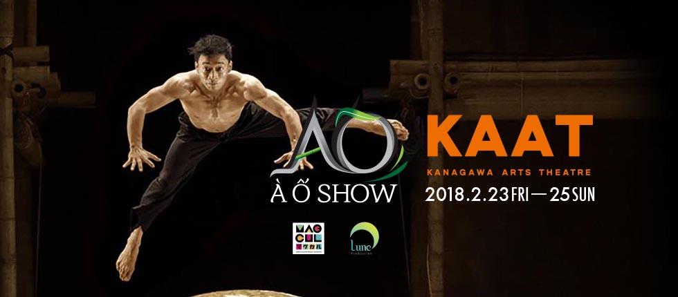 今月のプレゼント♪ 日本初上陸、ベトナムの新しいサーカス『A O SHOW』5組10名様