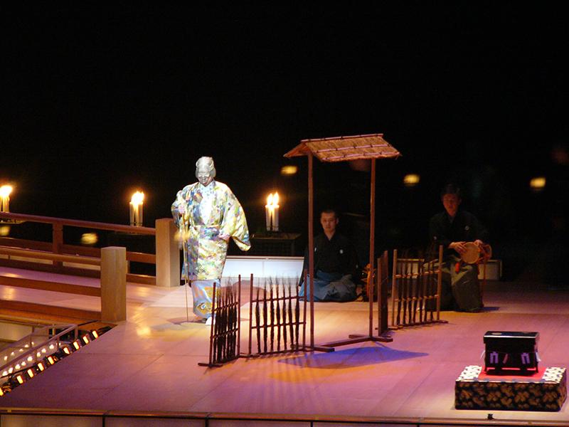 よこすか能 観世喜正プロデュース蝋燭能「屋島」