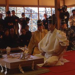 三溪園ですごすお正月~横浜市指定有形文化財 鶴翔閣公開