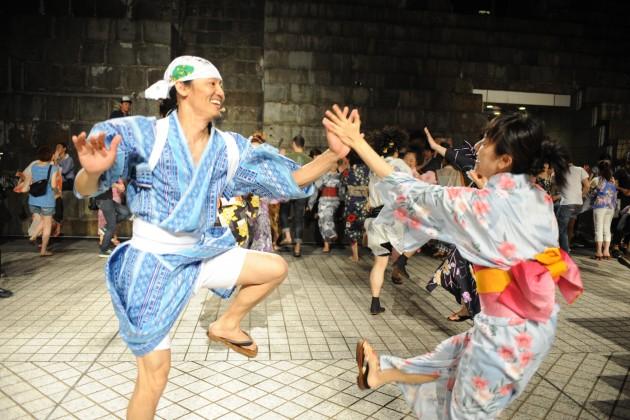 コンドルズと踊る!横浜大盆ダンス2015