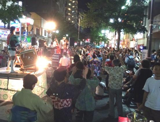 ジャズで盆踊り in 野毛 2015