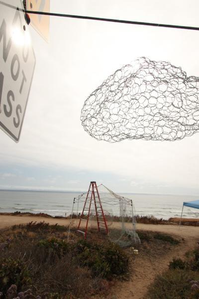 ポート・ジャーニー・プロジェクト サンディエゴ⇄横浜           井上唯帰国展「Story of the Clouds」