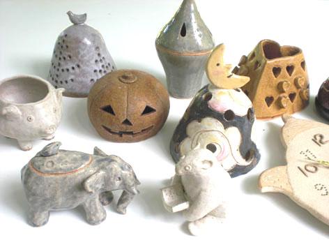 秋の期間限定メニュー 陶器で作るインテリア