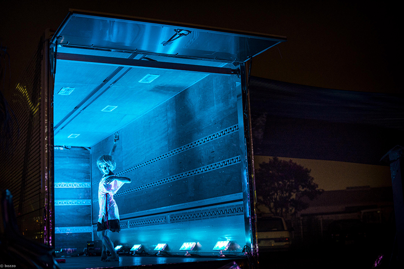 DANCE TRUCK PROJECT:2014                    「スマートイルミネーション横浜2014」参加プログラム