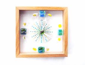 初夏の体験工房期間限定メニュー ガラスフュージングで作ろう! キラキラアクセサリー&フレーム時計