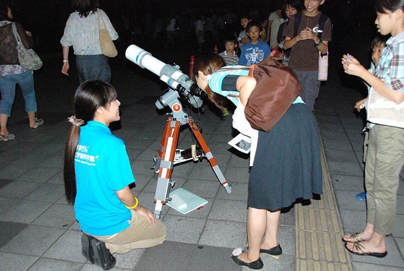 プラネタリウムと星空観察会「4月の星空をみよう!春の2重星をみよう!」