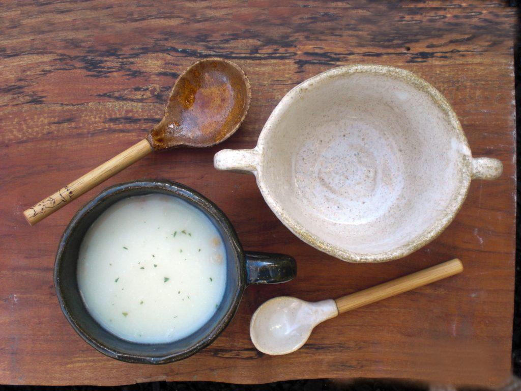 藤野芸術の家 スープのための器づくりと木の柄のスプーンづくり(相模原市)
