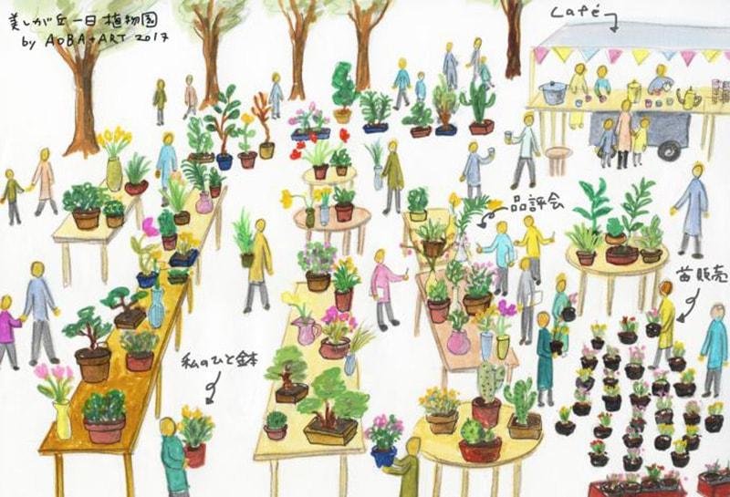 AOBA+ARTの 美しが丘 一日ミニ植物園