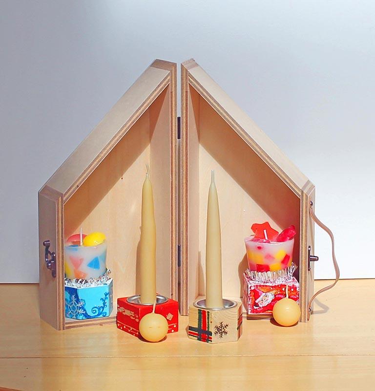 木工ワークショップ キャンドルと木箱づくり