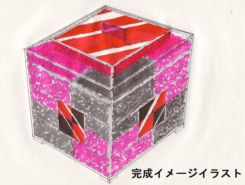 美術基礎講座 ステンドグラスのジュエリーボックス(小物入れ)を作る