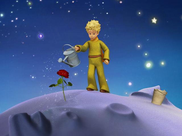 ミュージアム版CGアニメ「星の王子さま」