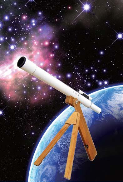 七夕限定企画 サイエンスアート・天体望遠鏡をつくろう!
