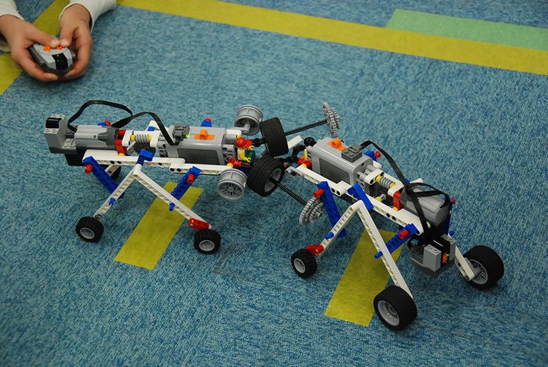 ロボット教室「サイエンス&テクノロジー ~レゴで学ぶ科学の原理~ マンモス作って相撲大会!」