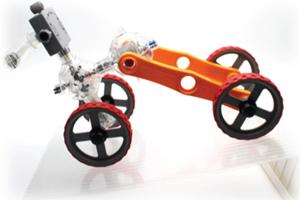 ロボット&プログラミング教室「ロボット教育ブロックIQKEY パワフルカーVS急な坂道(最大傾斜角45°)~重心をとらえよう~」(対象:小学3-6年生)(要事前申込み)