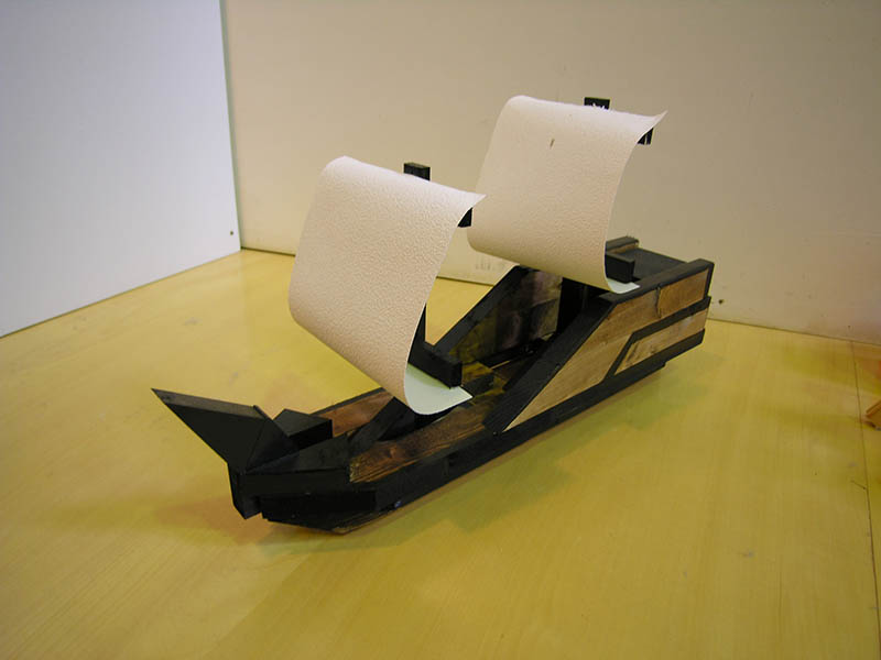 かながわお楽しみクーポン限定 特別メニュー「巨大帆船作り」