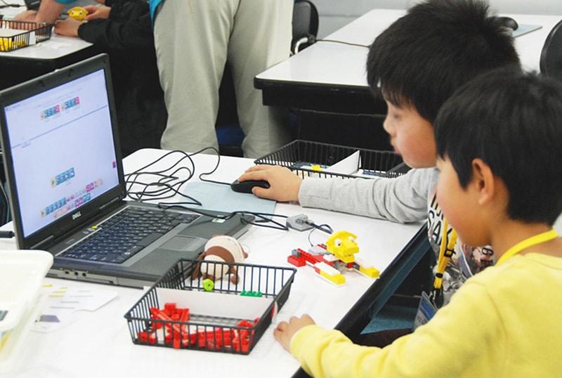 ロボット&プログラミング教室「初めてのプログラミング・アドバンス ~レゴWeDoを使って~(センサープログラミング)」