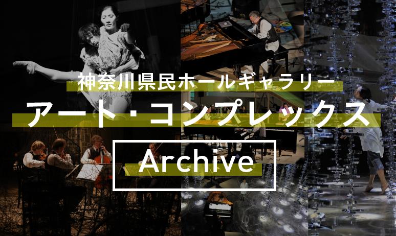 神奈川県民ホールギャラリー「アート・コンプレックス」シリーズ アーカイブ