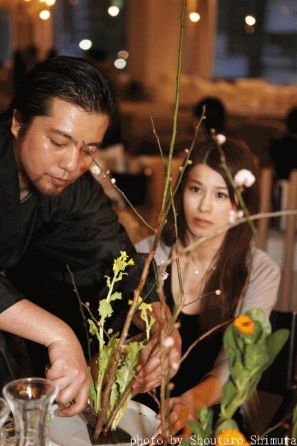 花狂い・熊野寿哉の生け花ワークショップ「お正月花を生けて、新年を迎える準備を」