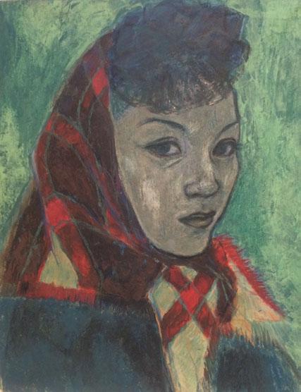 朝倉摂 Setsu Asakura, the 1950s
