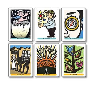 無意識の旅をガイドする タロットカード&サビアンカード展