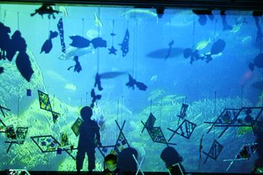 コソダテ アートプロジェクト in山手ゲーテ座 子そだては爆発だぁ2015 「まぼろし水族館」