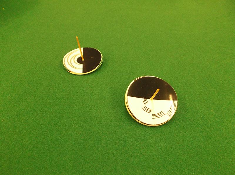 ボランティア オリジナル工作教室「磁石コマに挑戦!」