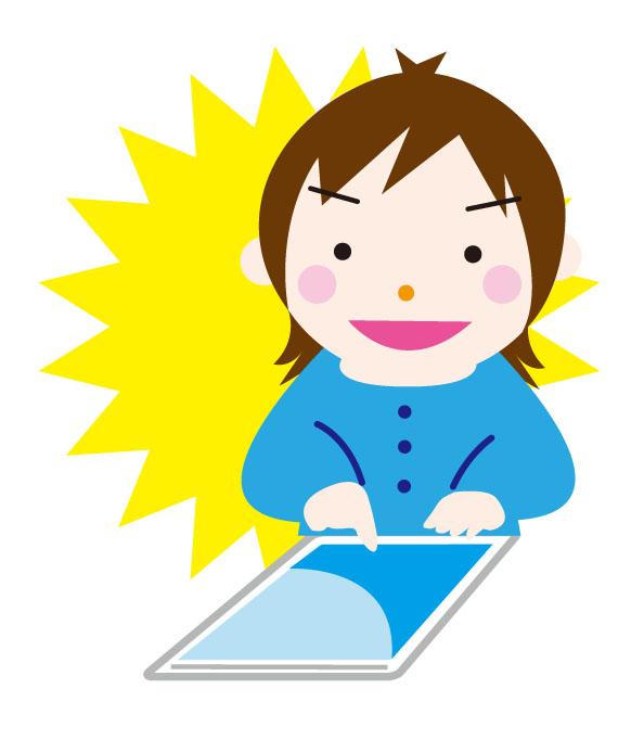 えびかんキッズクラブプログラム タブレットでプログラミング ≪ビジュアルプログラミング言語 Viscuit~ビスケット~≫
