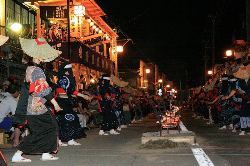 吉野町アート寺子屋~ダンス編~                    「夏だ!踊ろう!西馬音内 日本民俗芸能体験」