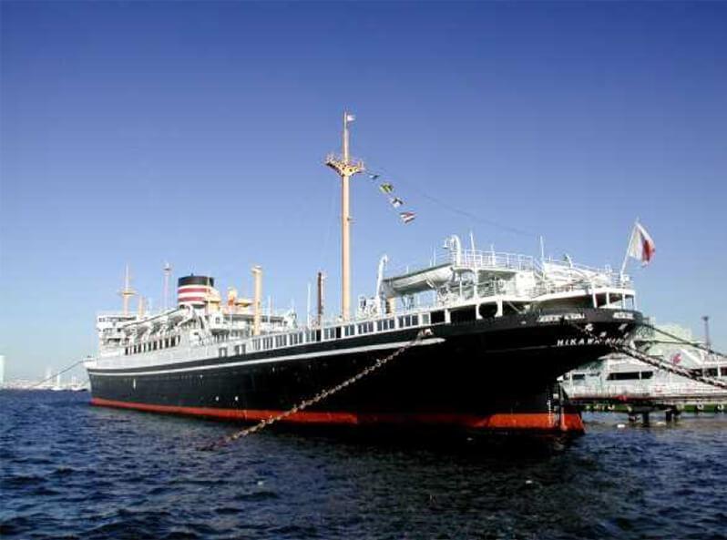 氷川丸船内の非公開場所見学ツアー開催(※要予約)