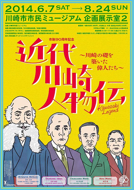 連続講座「近代川崎人物伝」