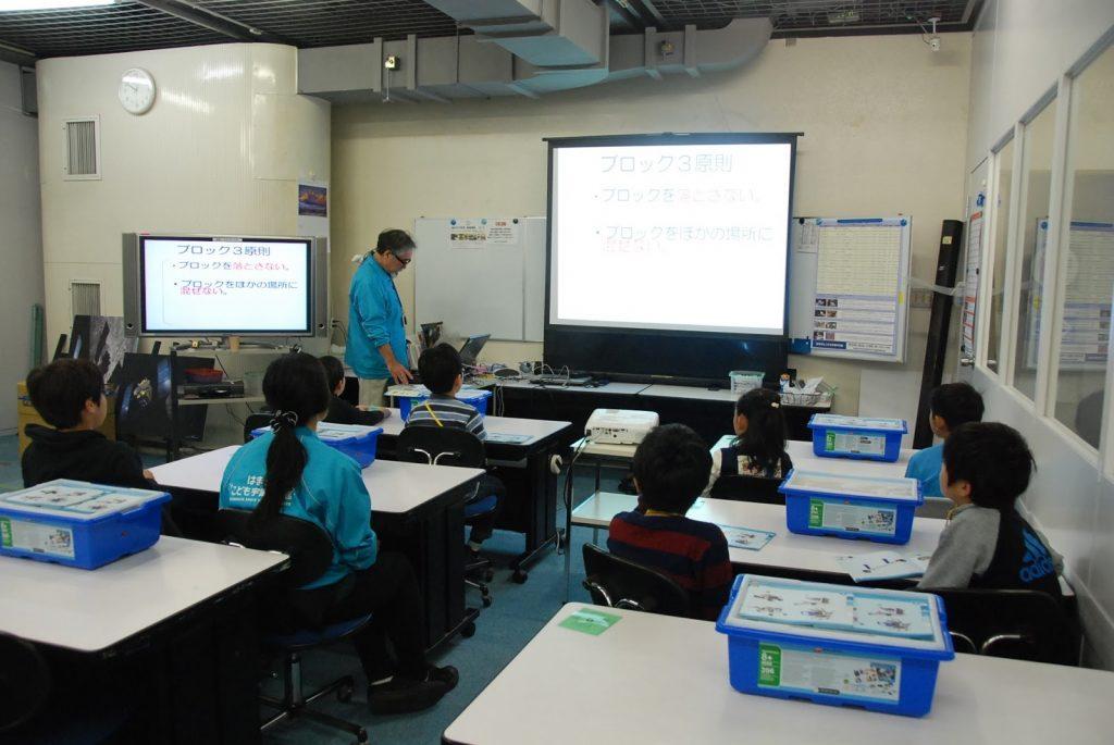 ロボット&プログラミング教室「サイエンス&テクノロジー ~レゴで学ぶ科学の原理~(綱引き)」