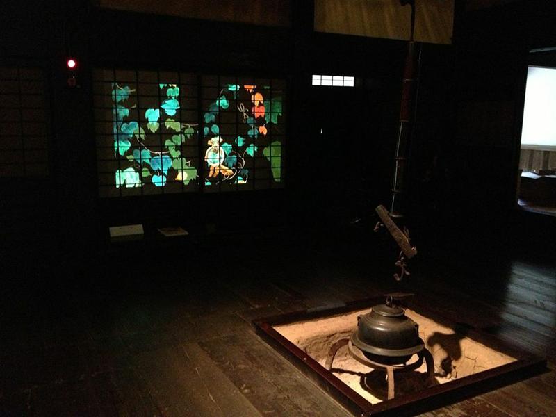 本牧アートプロジェクト2014 プレ企画 三渓園 観月会/稲葉まり 幻灯インスタレーション