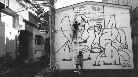 ライヤー・ベン《SUGAR CANE LADY PROJECT》公開壁画制作中!