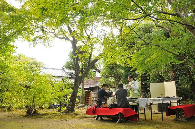 松永記念館茶会