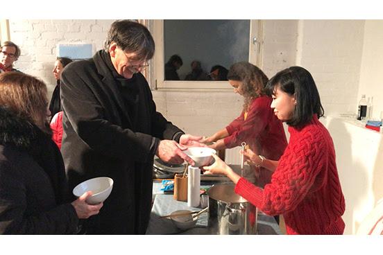 ポート・ジャーニー・プロジェクト ハンブルク⇆横浜  佐藤未来 帰国展 「Soup Tasting River Yokohama —- Hamburg」